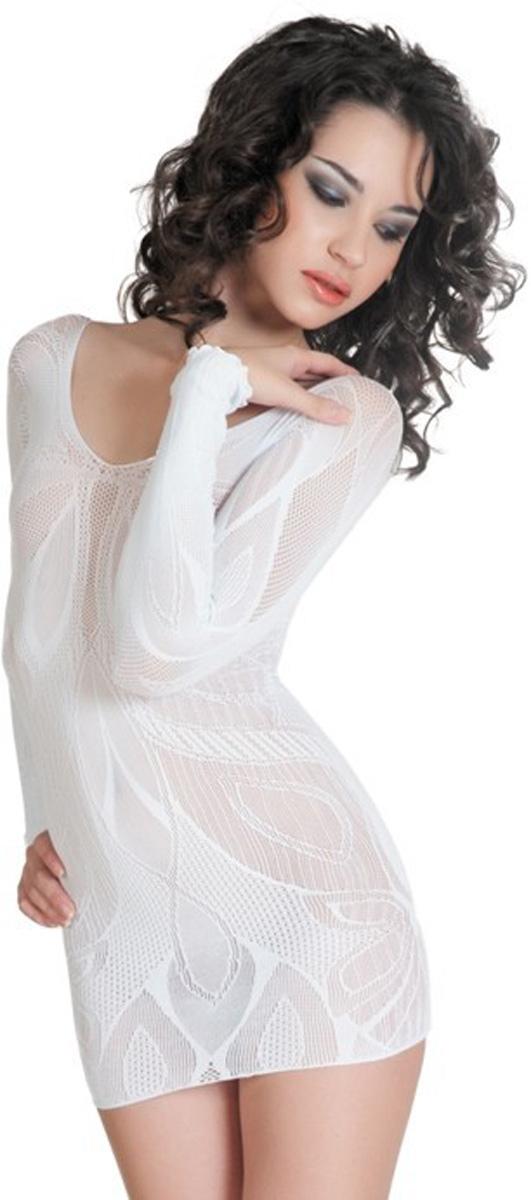 Платье гоу-гоу Erolanta Net Magic, цвет: белый. 940010. Размер S/L (42-46) спот mw light орион 1 547020803