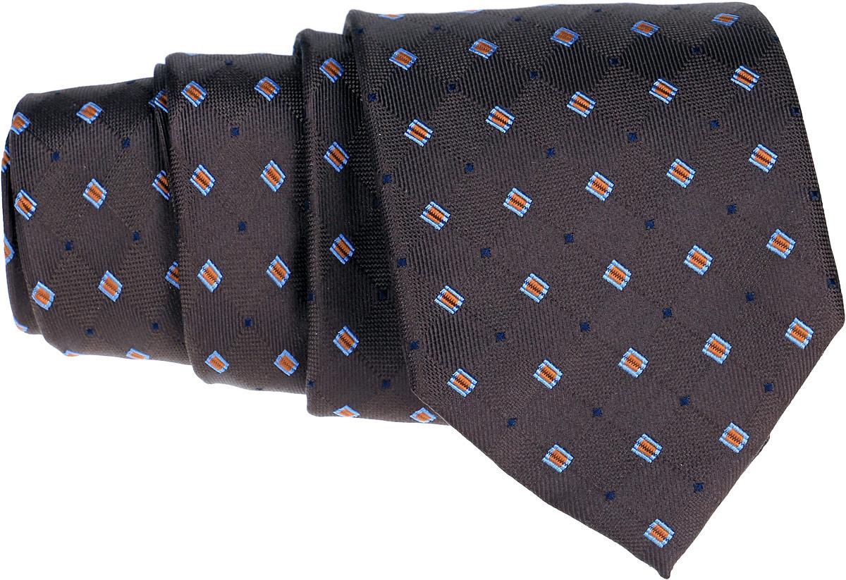 Галстук Eterna, цвет: коричневый . 9171_20_long. Размер универсальный9171_20_longОригинальный галстук Eterna является оптимальным завершением образа. Этот модный аксессуар порадует вас высоким качеством исполнения и современным дизайном. Галстук полностью выполнен из качественного шелка и оформлен оригинальным принтом в клетку.Такой стильный галстук подойдет как к повседневному, так и к официальному наряду, он позволит вам подчеркнуть свою индивидуальность и создать свой неповторимый стиль.