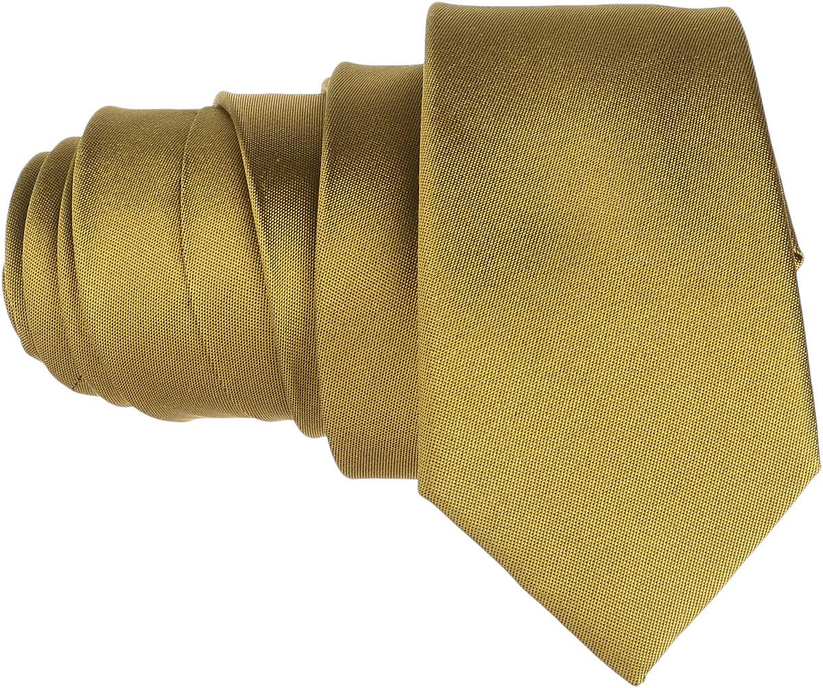 Галстук BTC, цвет: горчичный. 12.015449. Размер универсальный12.015449Стильный галстук BTC станет отличным завершающим штрихом вашего образа. Этот модный аксессуар порадует вас высоким качеством исполнения и современным дизайном. Изделие полностью выполнено из качественного шелка. Галстук оформлен оригинальным принтом.Такой оригинальный галстук подойдет как к повседневному, так и к официальному наряду, он позволит вам подчеркнуть свою индивидуальность и создать свой неповторимый стиль.