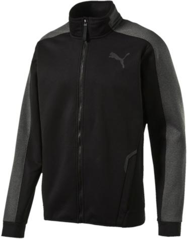 Толстовка мужская Puma Tech Fleece Fz Mock, цвет: черный. 51459301. Размер XXL (52/54)
