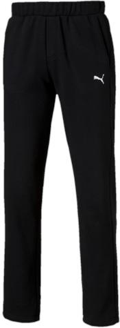 Брюки спортивные мужские Puma ESS Sweat Pants, Fl, Op., цвет: черный. 83826301. Размер XXL (52/54)838263_01Спортивные брюки Puma ESS Sweat Pants FL Op, выполненные из дышащей ткани с флисовой подкладкой, имеют свободный крой. Они идеально подходят для активного отдыха и занятий спортом в холодное время года. Удобные, комфортные, они не стеснят вас в движениях и подарят ощущение легкости. Ткань с добавлением полиэстера обеспечивает длительный срок эксплуатации изделия. Пояс регулируется затягивающимся шнуром. По бокам расположены прорезные карманы. Кокетка на задней стороне изделия обеспечивает лучшую посадку по фигуре. Брюки оформлены вышитым логотипом бренда.