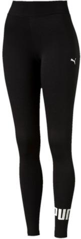 Леггинсы женские Puma ESS No.1 Leggings W, цвет: черный, белый. 838422_01. Размер XS (40/42)838422_01Леггинсы ESS No.1 Leggings W выполнены из хлопка с добавлением эластана. Благодаря приятной на ощупь ткани, тренироваться в них будет очень комфортно. Модель имеет фасон в обтяжку по фигуре. Пояс выполнен из основного материала изделия. Леггинсы декорированы прорезиненным логотипом PUMA, а также вышитой фирменной символикой PUMA.