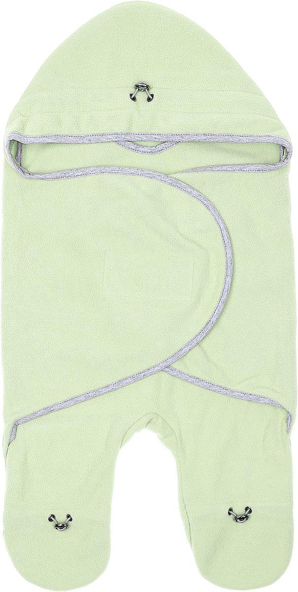 Комбинезон-конверт для новорожденного Mums Era Лайм, цвет: светло-зеленый. 34334. Размер 54/62, 0-3 месяца34334Комбинезон-конверт Mums Era Лайм подойдет как для выписки из роддома, так и для повседневного использования. Изделие выполнено из двустороннего флиса (100% полиэстер). Материал необычайно мягкий, тактильно приятный, хорошо пропускает воздух, не раздражает нежную кожу ребенка.Благодаря штанинам комбинезон удобен для поездок малыша в автокресле или в люльке (где его нужно пристегнуть). На изделии имеется специальная вставка под подгузник для дополнительного объема. Рукава комбинезона дополнены удобной застежкой-липучкой, что позволяет спеленать малыша как потуже, так и посвободнее. На капюшоне, талии и штанинах предусмотрена регулировка объема в виде эластичных шнурков со стопперами. Шея и грудь утеплены дополнительным слоем флиса. По краям комбинезон-конверт оформлен окантовкой.Комбинезон-конверт - удобная и многофункциональная одежда для первых месяцев жизни младенца. Он защитит малыша от холода и сквозняка, а также подарит ощущение тепла, уюта и комфорта!