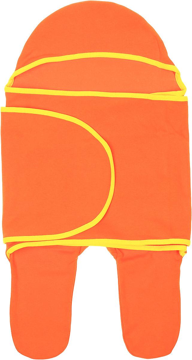 Комбинезон-конверт для новорожденного Mums Era Кэррот, цвет: оранжевый. 35149. Размер 54/62, 0-3 месяца35149Комбинезон-конверт Mums Era Кэррот покорит любого родителя своей удобной простотой. Изделие выполнено из натурального хлопка. Материал очень мягкий, приятный к телу, хорошо пропускает воздух, не раздражает нежную кожу ребенка.Благодаря штанинам комбинезон удобен для поездок малыша в автокресле или в люльке (где его нужно пристегнуть). На изделии предусмотрена специальная вставка под подгузник для дополнительного объема. Длинный рукав комбинезона оборачивается вокруг ребенка наподобие пеленки. По краям комбинезон-конверт оформлен окантовкой.Комбинезон-конверт - удобная и многофункциональная одежда для первых месяцев жизни младенца. Он защитит малыша от холода и сквозняка, а также подарит ощущение уюта и комфорта!