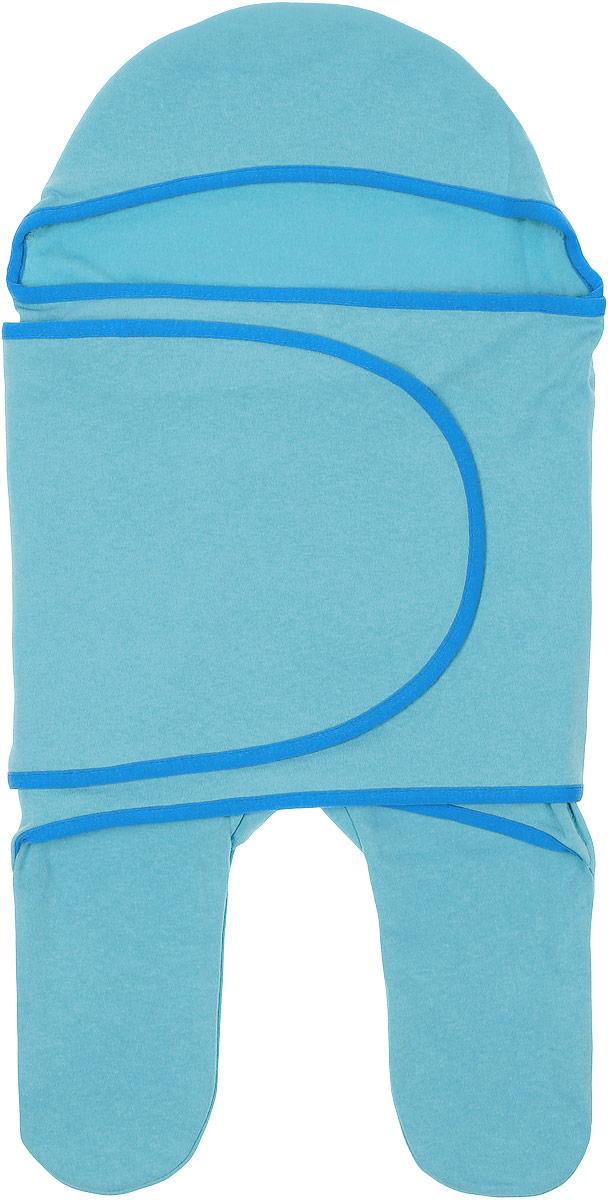 Комбинезон-конверт для новорожденного Mums Era Ментол, цвет: светло-бирюзовый. 8344. Размер 54/62, 0-3 месяца8344Комбинезон-конверт Mums Era Ментол покорит любого родителя своей удобной простотой. Изделие выполнено из натурального хлопка. Материал очень мягкий, приятный к телу, хорошо пропускает воздух, не раздражает нежную кожу ребенка.Благодаря штанинам комбинезон удобен для поездок малыша в автокресле или в люльке (где его нужно пристегнуть). На изделии предусмотрена специальная вставка под подгузник для дополнительного объема. Длинный рукав комбинезона оборачивается вокруг ребенка наподобие пеленки. По краям комбинезон-конверт оформлен окантовкой.Комбинезон-конверт - удобная и многофункциональная одежда для первых месяцев жизни младенца. Он защитит малыша от холода и сквозняка, а также подарит ощущение уюта и комфорта!