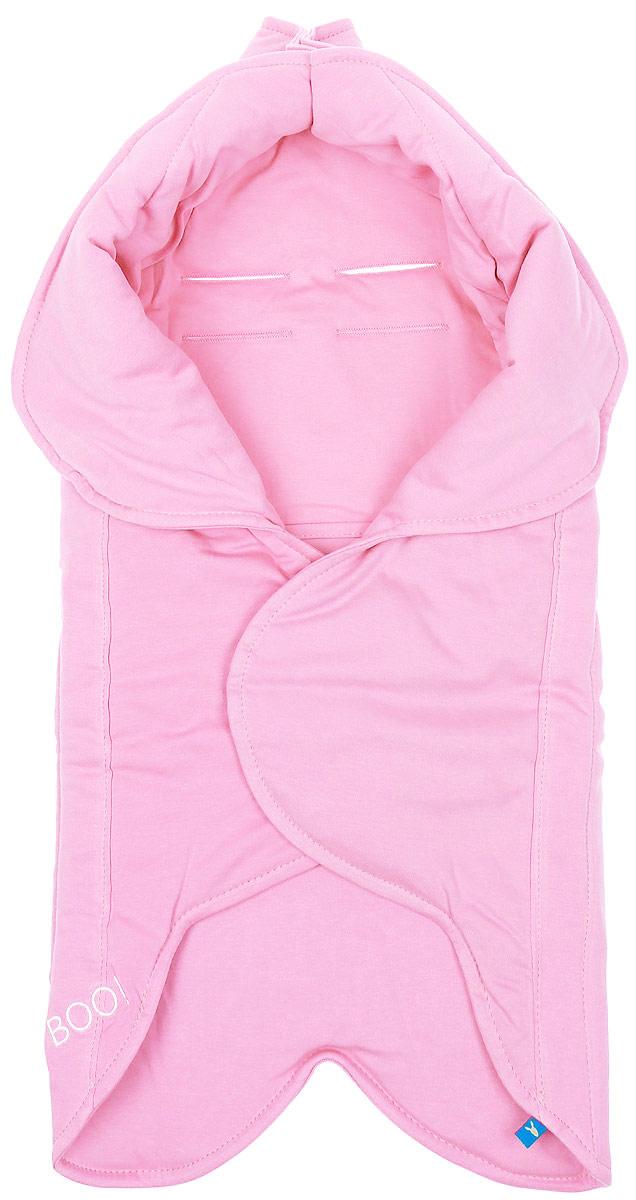 Конверт-лепесток для новорожденного Wallaboo, цвет: розовый. WF.0310.1903. Размер 0 месяцевWF.0310.1903Конверт-лепесток для новорожденного Wallaboo станет замечательным дополнением к детскому гардеробу. Конверт в форме цветка выполнен из натурального хлопка. Материал мягкий и нежный, приятный на ощупь, не раздражает кожу с повышенной чувствительностью. В качестве наполнителя используется полиэстер.На конверте предусмотрен карман для ног малыша, чтобы сохранить маленькие ножки в тепле. Верхняя часть конверта с помощью кнопок образует капюшон. Конверт легко раскладывается, благодаря чему его можно использовать в качестве одеяла или коврика для игр. Застежки в виде липучек и кнопок позволяют быстро зафиксировать конверт и обеспечивают надежное облегание, которое не ограничивает движения малыша и подарит ему чувство тепла, комфорта и защищенности. На спинке имеются прорези, предназначенные для фиксации ребенка ремнем безопасности в автокресле. Украшена модель вышитым логотипом бренда. Многофункциональный и удобный конверт идеально подойдет для первых месяцев жизни младенца. Он сделает отдых и прогулки малыша уютными и комфортными.
