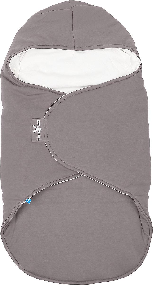 Конверт-кокон для новорожденного Wallaboo, цвет: коричневый, молочный. BBC.0214.4614. Размер 0месBBC.0214.4614Конверт-кокон для новорожденного Wallaboo идеально подойдет для дневного и ночного сна, а также прогулок икормления малыша. Мягкий и нежный, этот конверт выполнен из высококачественного натурального хлопка и утеплен синтепоном. Он подойдет для малышей с самого рождения. Верхняя часть конверта выполнена в виде капюшона, она бережно обхватывает голову малыша и не даст ему замерзнуть. Ножки ребенка всегда будут в тепле благодаря удобному откидывающемуся клапану. Конверт не имеет застежек, что обеспечивает дополнительную безопасность при использовании. Такой конверт не ограничивает движения малыша и подарит ему чувство комфорта и защищенности. Такой конверт подойдет для большинства колясок и детских сидений. Он сделает прогулки малыша уютными ибезопасными.