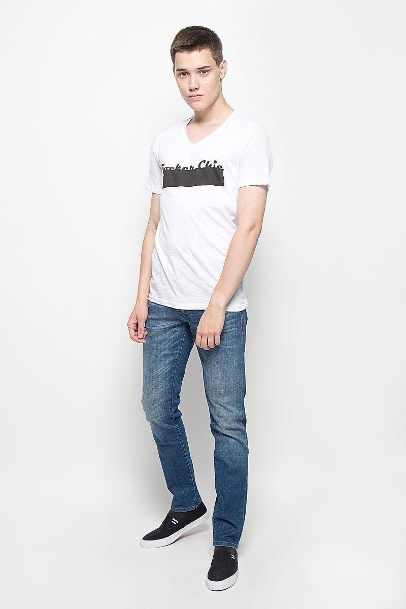 Футболка мужская Mexx, цвет: белый. MX3023144. Размер L (52)MX3023144Стильная мужская футболка Mexx выполнена из 100% хлопка. Эффектный принт, качественный материал и пошив делают эту мужскую футболку идеальной как для повседневного ношения, так и для занятий спортом.