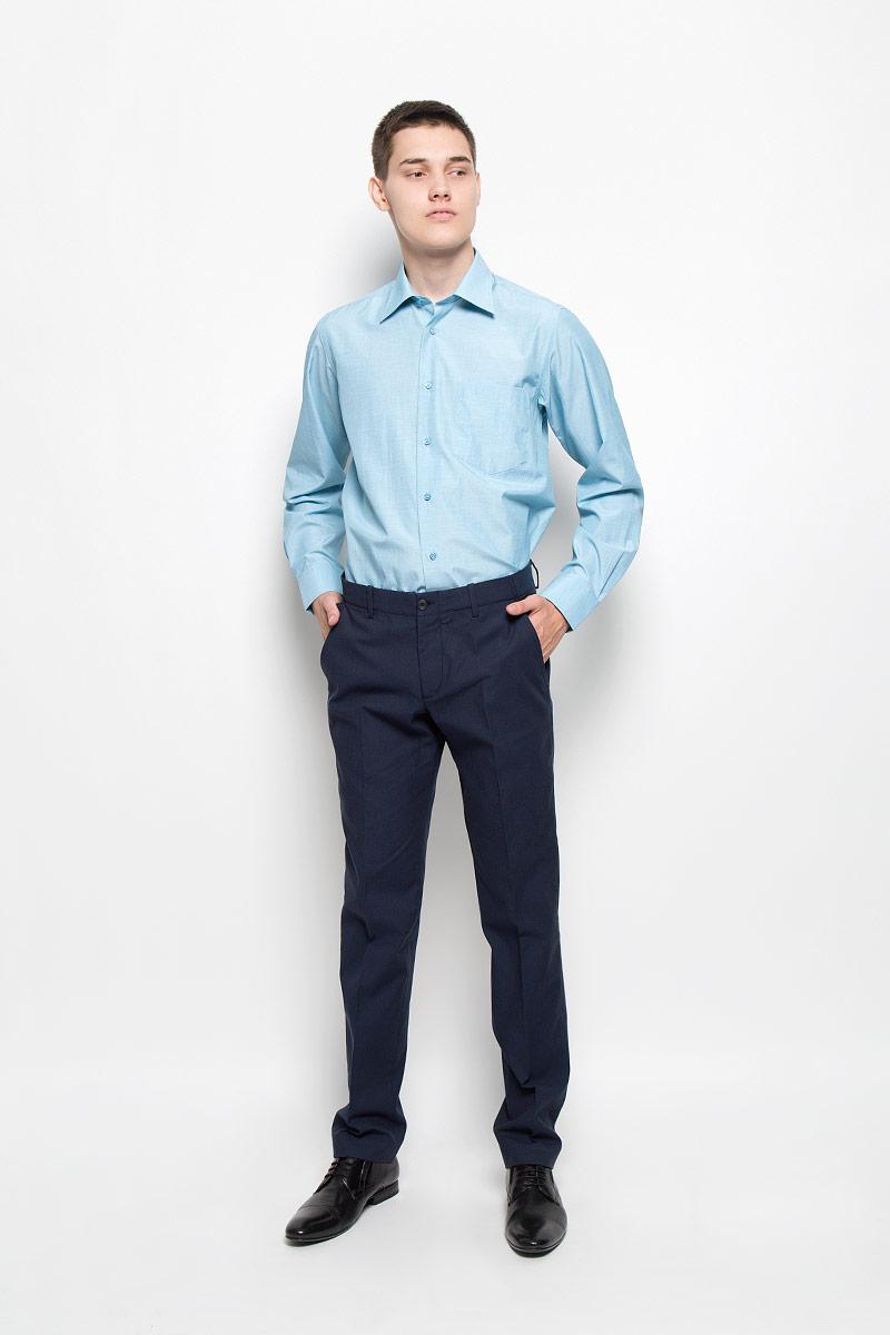 Брюки мужские Mexx, цвет: темно-синий. MX3000785_MN_PNT_009. Размер XXL (56)MX3000785_MN_PNT_009Стильные мужские брюки Mexx, выполненные из хлопка с добавлением эластана, отлично дополнят ваш образ. Ткань изделия тактильно приятная и позволяет коже дышать.Брюки застегиваются на пуговицу и имеют ширинку на застежке-молнии. С внутренней стороны имеется дополнительная застежка-пуговица. На поясе предусмотрены шлевки для ремня. Спереди модель дополнена тремя втачными карманами, сзади - двумя накладными карманами. Модель оформлена оригинальным принтом.Высокое качество кроя и пошива, актуальный дизайн и расцветка придают изделию неповторимый стиль и индивидуальность. Модель займет достойное место в вашем гардеробе!