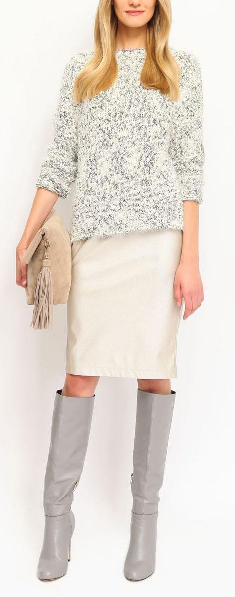 Юбка Top Secret, цвет: шампань. SSD0897ZL. Размер 34 (40)SSD0897ZLЭффектная юбка Top Secret выполнена из плотного полиуретана, она обеспечит вам комфорт и удобство при носке.Оригинальная юбка застегивается на потайную застежку-молнию сзади. Изделие оформлено декоративными вытачками спереди.Модная юбка-карандаш выгодно освежит и разнообразит ваш гардероб. Создайте женственный образ и подчеркните свою яркую индивидуальность! Классический фасон и оригинальное оформление этой юбки сделают ваш образ непревзойденным.