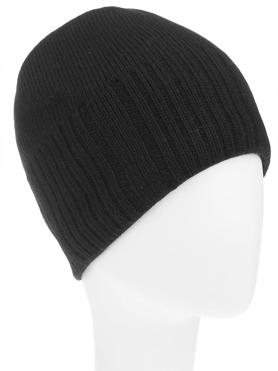 Шапка мужская Baon, цвет: черный. B846516_BLACK. Размер универсальныйB846516_BLACKКлассическая мужская шапка Baon из полушерстяной пряжи отлично дополнит ваш образ в холодную погоду. Сочетание шерсти и акрила максимально сохраняет тепло и обеспечивает удобную посадку, невероятную легкость и мягкость. Внутренняя сторона шапки утеплена мягким флисом. Оформлено изделие вязанной резинкой, также дополнено небольшой металлической пластиной с названием бренда. Стильная шапка Baon подчеркнет ваш неповторимый стиль и индивидуальность. Такая модель составит идеальный комплект с модной верхней одеждой, в ней вам будет уютно и тепло.