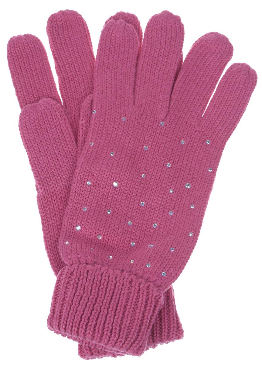 Перчатки для девочки Sela, цвет: коралловый. GL-643/057AV-6302. Размер 14GL-643/057AV-6302Вязаные перчатки для девочки Sela идеально подойдут для прогулок в прохладное время года. Изготовленные из высококачественного материала, очень мягкие и приятные на ощупь, не раздражают нежную кожу ребенка, обеспечивая ему наибольший комфорт, хорошо сохраняют тепло. Уютные хлопковые перчатки украшены сверкающими стразами. Верх модели на мягкой резинке, которая не стягивает запястья и надежно фиксирует перчатки на ручках ребенка.Современный дизайн и расцветка делают эти перчатки модным и стильным предметом детского гардероба. В них ваша маленькая модница будет чувствовать себя уютно и комфортно и всегда будет в центре внимания!