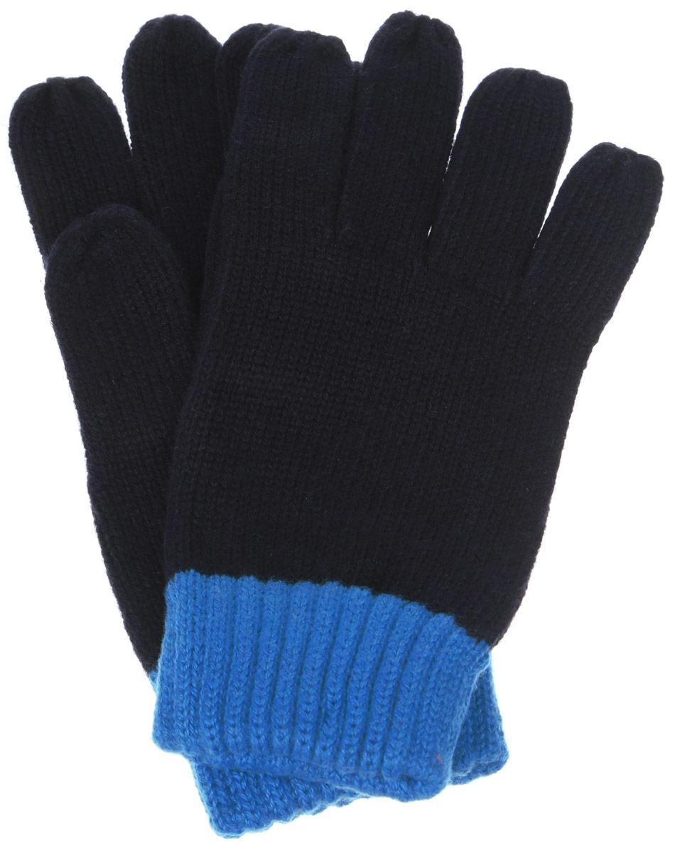 Перчатки для мальчика Sela, цвет: темно-синий. GL-843/054-6302. Размер 18GL-843/054-6302Вязаные перчатки для мальчика Sela идеально подойдут для прогулок в прохладное время года. Изготовленные из высококачественного материала, очень мягкие и приятные на ощупь, не раздражают нежную кожу ребенка, обеспечивая ему наибольший комфорт, хорошо сохраняют тепло. Стильные перчатки выполнены в двух цветах. Верх модели на мягкой резинке, которая не стягивает запястья и надежно фиксируюет перчатки на руках ребенка.Современный дизайн и расцветка делают эти перчатки модным и стильным предметом детского гардероба. В них ваш ребенок будет чувствовать себя уютно и комфортно.