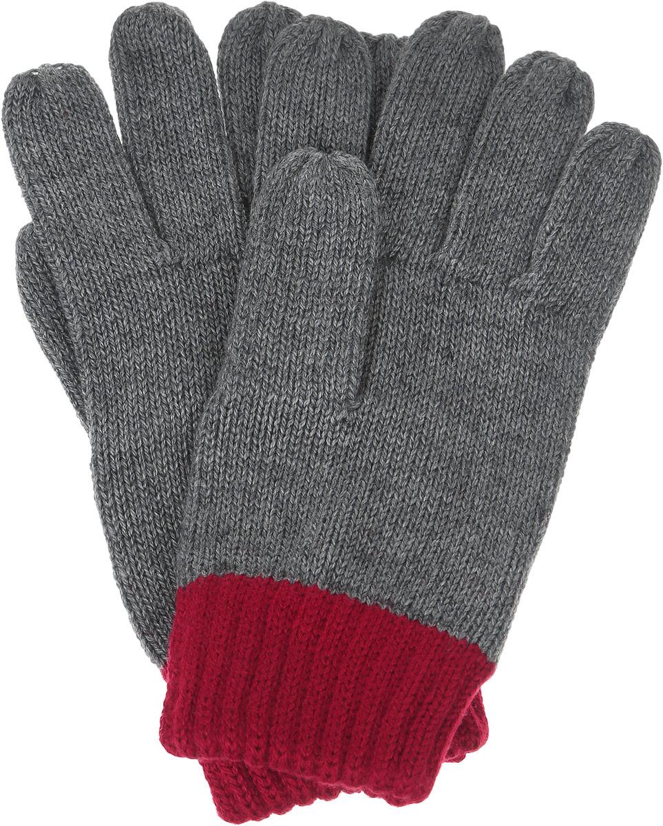 Перчатки для мальчика Sela, цвет: темно-серый меланж. GL-843/054-6302. Размер 18GL-843/054-6302Вязаные перчатки для мальчика Sela идеально подойдут для прогулок в прохладное время года. Изготовленные из высококачественного материала, очень мягкие и приятные на ощупь, не раздражают нежную кожу ребенка, обеспечивая ему наибольший комфорт, хорошо сохраняют тепло. Стильные перчатки выполнены в двух цветах. Верх модели на мягкой резинке, которая не стягивает запястья и надежно фиксируюет перчатки на руках ребенка.Современный дизайн и расцветка делают эти перчатки модным и стильным предметом детского гардероба. В них ваш ребенок будет чувствовать себя уютно и комфортно.