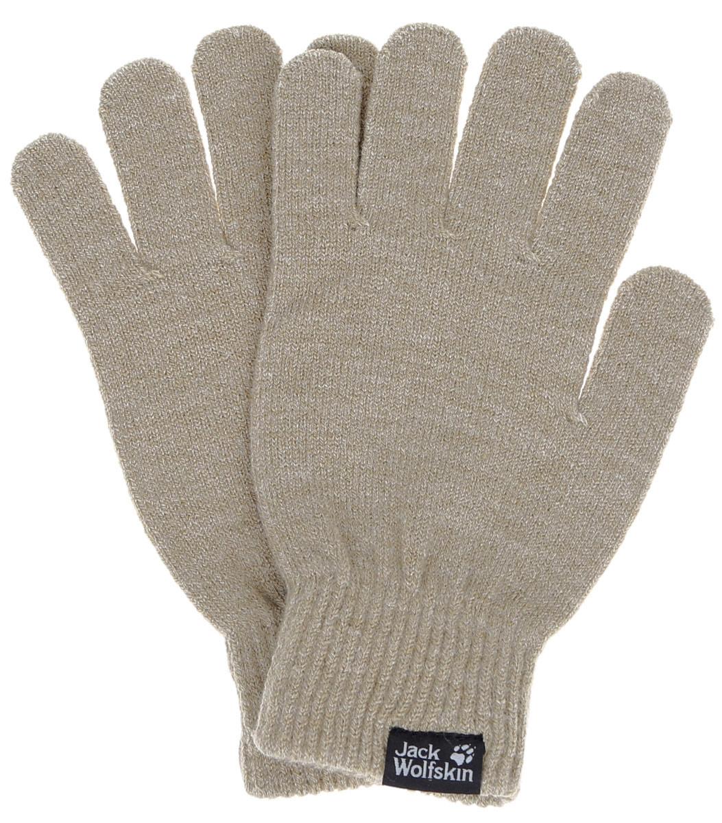 Перчатки женские Jack Wolfskin Rib Glove W, цвет: темно-бежевый. 1903741-5045. Размер 19,5/231903741-5045Легкие женские перчатки Jack Wolfskin тонкой вязки. Они привлекают очень малым весом. Для этого перчатки выполнены из материала тонкой вязки, который обеспечивает хорошее сохранение тепла и приятно носится. Перчатки защищают от холода в повседневной жизни и коротких зимних прогулках. Уютные шерстяные перчатки оформлены в одной цветовой гамме и дополнены логотипом бренда. Верх модели на мягкой резинке, которая не стягивает запястья и надежно фиксирует перчатки на руках.Современный дизайн и расцветка делают эти перчатки модным и стильным предметом вашего гардероба. В них вы будет чувствовать себя уютно и комфортно.