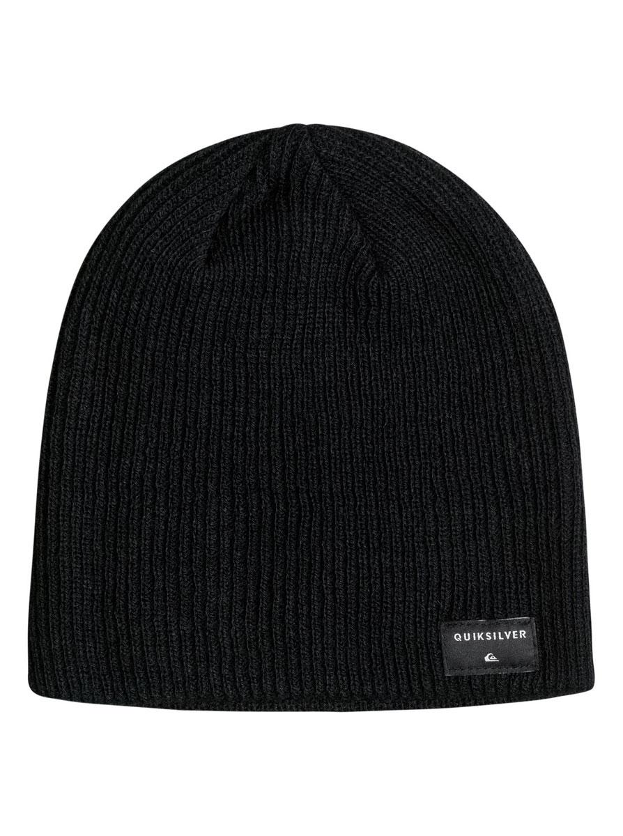 Шапка мужская Quiksilver Cushy M Hats, цвет: черный. AQYHA03560-KVJ0. Размер универсальныйAQYHA03560-KVJ0Классическая мужская шапка Quiksilver отлично дополнит ваш образ в холодную погоду. Выполненная из акрила она максимально сохраняет тепло и обеспечивает удобную посадку, невероятную легкость и мягкость. Шапка оформлена небольшой нашивкой с названием бренда. Стильная шапка Quiksilver подчеркнет ваш неповторимый стиль и индивидуальность. Такая модель составит идеальный комплект с модной верхней одеждой, в ней вам будет уютно и тепло.