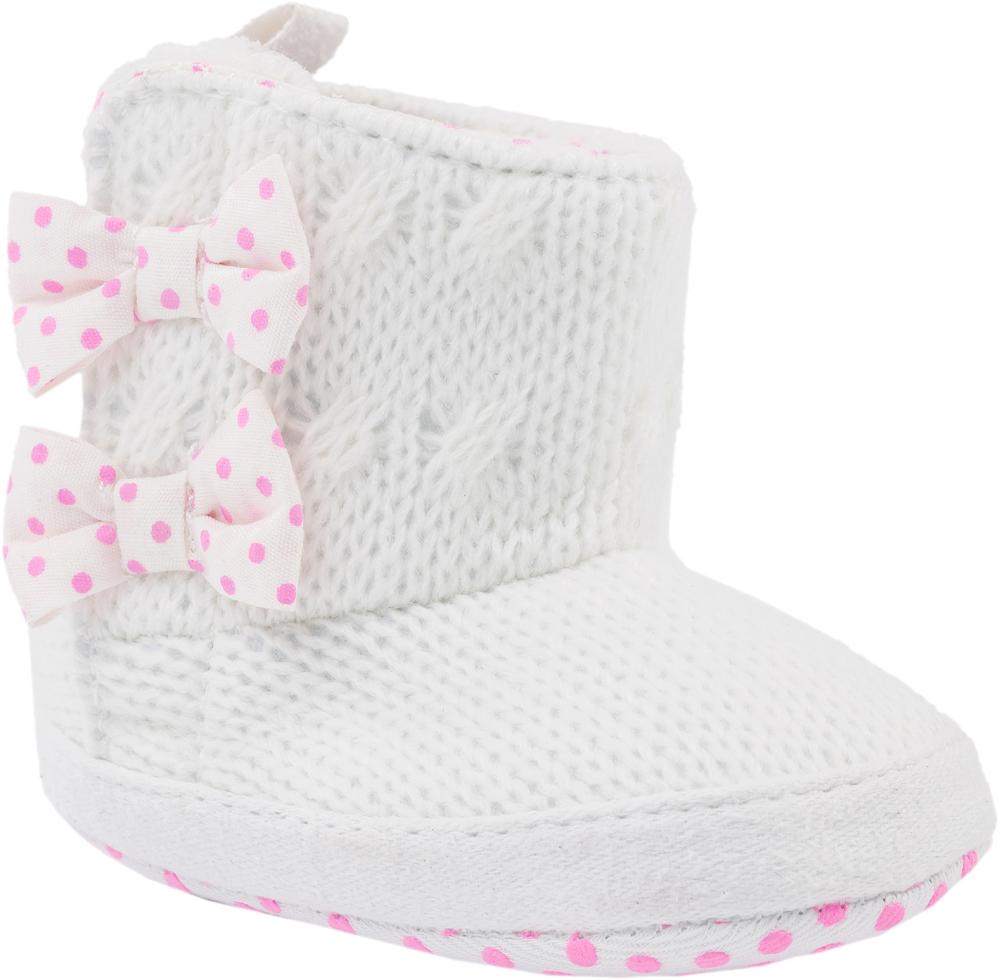 Пинетки для девочек Котофей, цвет: белый. 001039-11. Размер 18001039-11Легкие, эластичные пинетки изготовлены из натуральных качественных текстильных материалов Пинетки легко надеваются и снимаются. Движения стопы в них остаются свободными. Необходимо помнить, что пинетки – это обувь для детей, которые еще не начали ходить!