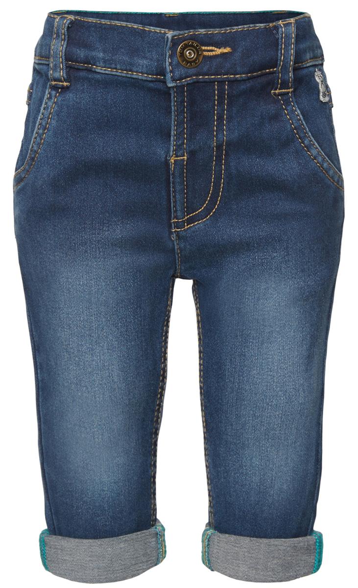 Джинсы детские Tom Tailor, цвет: синий. 6204578.00.22_1094. Размер 926204578.00.22_1094Стильные детские джинсы Tom Tailor выполнены из высококачественного материала. Модель на талии застегивается на металлическую пуговицу и имеет ширинку на застежке-молнии, а также шлевки для ремня. Джинсы дополнены спереди двумя втачными карманами и сзади - два накладных кармана.