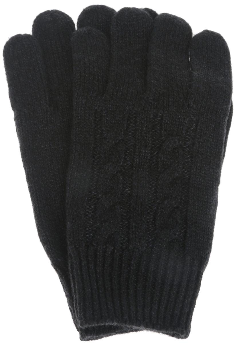Перчатки для мальчика Sela, цвет: черный, синий. GL-843/055-6302. Размер 18GL-843/055-6302Детские вязаные перчатки Sela, изготовленные из мягкого материала, отлично подойдут для ребенка. Они максимально сохраняют тепло, мягкие, идеально сидят на руке и хорошо тянутся. Манжеты перчаток связаны плотной резинкой, благодаря чему перчатки надежно фиксируются на ручках ребенка. Оформлено изделие интересным вязанным узором. Перчатки станут идеальным вариантом для прохладной погоды, в них ребенку будет тепло и комфортно.