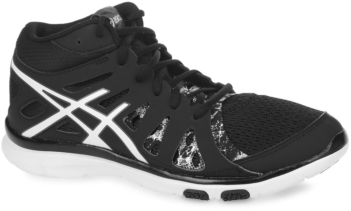 Кроссовки женские Asics Gel-Fit Tempo 2 Mt, цвет: черный. S564N-9001. Размер 6H (36)S564N-9001Новый классический стиль. В модели используются прочные полимерные материалы со вставками из дышащего текстиля, что обеспечивают отличную вентиляцию. Классическая шнуровка надежно зафиксирует изделие на ноге.Удобные кроссовки - незаменимая вещь в гардеробе спортсменки.