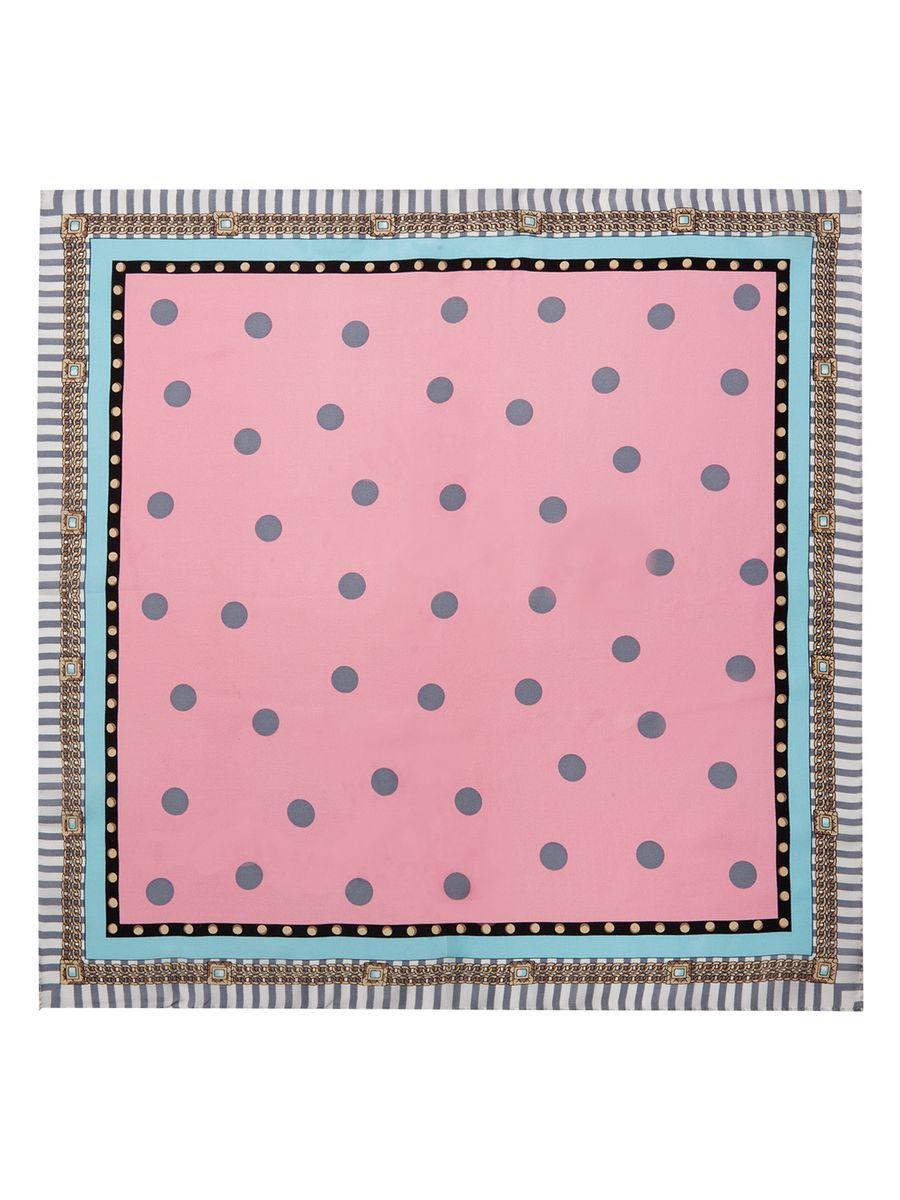 Платок женский Eleganzza, цвет: розовый, серый, голубой. SS03-7861. Размер 53 см х 53 смSS03-7861Женский платок Eleganzza, изготовленный из шелка, мягкий и приятный на ощупь.Изделие оформлено оригинальным принтом.