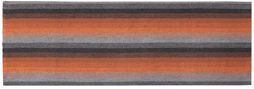 Шарф мужской Labbra, цвет: темно-коричневый, коричневый, серо-бежевый. LJG33-372. Размер 30 см х 180 смLJG33-372Мужской шарф Labbra, изготовленный из шерсти и вискозы, мягкий и приятный на ощупь. Изделие оформлено принтом в полоску. По короткому краю модель оформлена бахромой.
