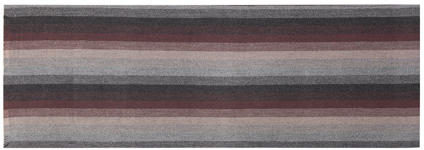 Шарф мужской Labbra, цвет: черный, светло-серый, серо-коричневый. LJG33-372. Размер 30 см х 180 смLJG33-372Мужской шарф Labbra, изготовленный из шерсти и вискозы, мягкий и приятный на ощупь. Изделие оформлено принтом в полоску. По короткому краю модель оформлена бахромой.