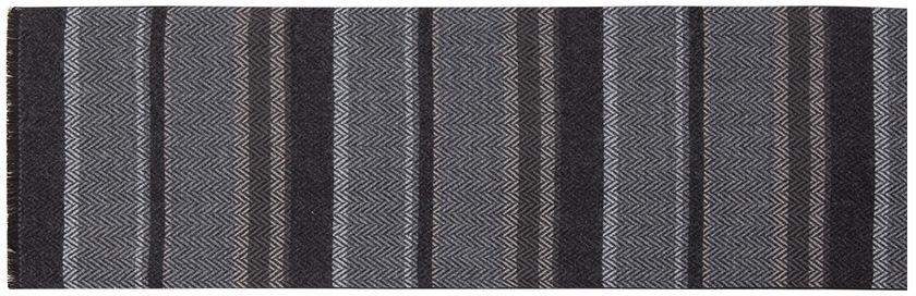 Шарф мужской Labbra, цвет: светло-серый, темно-серый. LJG33-362. Размер 30 см х 180 смLJG33-362Мужской шарф Labbra, изготовленный из шерсти и вискозы, мягкий и приятный на ощупь. Изделие оформлено оригинальным принтом. По короткому краю модель оформлена бахромой.