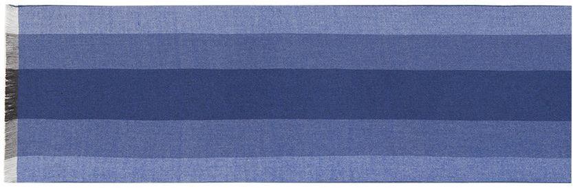 Шарф мужской Labbra, цвет: синий. LJG33-375. Размер 30 см х 180 смLJG33-375Мужской шарф Labbra, изготовленный из шерсти и вискозы, мягкий и приятный на ощупь. Изделие оформлено принтом в полоску. По короткому краю модель оформлена бахромой.