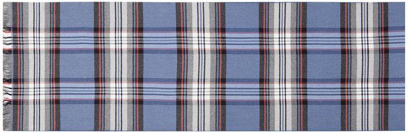 Шарф мужской Labbra, цвет: синий. LJG34-380. Размер 30 см х 180 смLJG34-380Элегантный мужской шарф Labbra согреет вас в холодное время года, а также станет изысканным аксессуаром, который призван подчеркнуть ваш стиль и индивидуальность. Шарф, выполненный из шелка и вискозы, оформлен контрастными полосками и украшен бахромой по короткому краю.