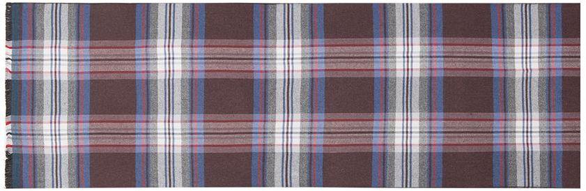 Шарф мужской Labbra, цвет: коричневый. LJG34-380. Размер 30 см х 180 смLJG34-380Элегантный мужской шарф Labbra согреет вас в холодное время года, а также станет изысканным аксессуаром, который призван подчеркнуть ваш стиль и индивидуальность. Шарф, выполненный из шелка и вискозы, оформлен контрастными полосками и украшен бахромой по короткому краю.