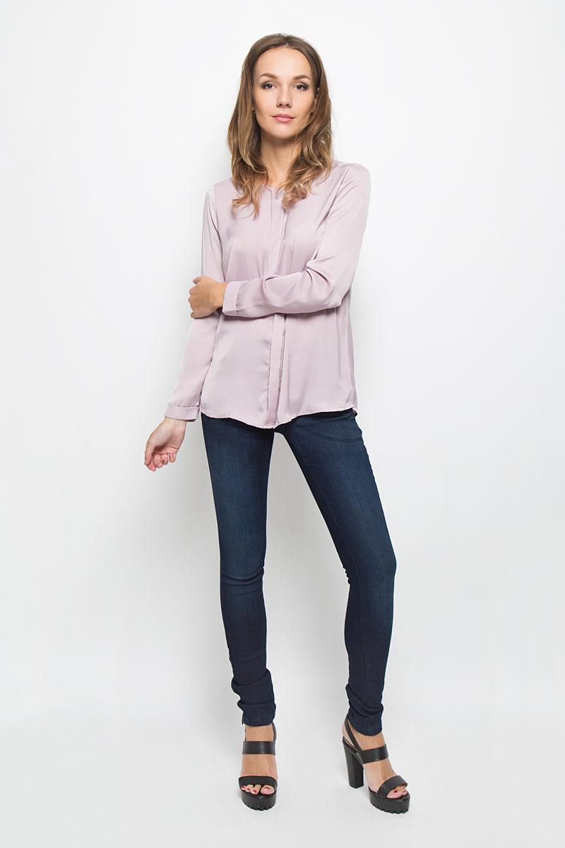 Джинсы женские Baon, цвет: темно-синий. B306504. Размер 30 (46/48)B306504Стильные женские джинсы Baon - это джинсы высочайшего качества, которые прекрасно сидят. Они выполнены из высококачественного эластичного хлопка, что обеспечивает комфорт и удобство при носке. Модные джинсы скинни станут отличным дополнением к вашему современному образу. Джинсы застегиваются на пуговицу в поясе и ширинку на застежке-молнии, имеют шлевки для ремня. Джинсы имеют классический пятикарманный крой: спереди модель оформлена двумя втачными карманами и одним маленьким накладным кармашком, а сзади - двумя накладными карманами.Эти модные и в то же время комфортные джинсы послужат отличным дополнением к вашему гардеробу.
