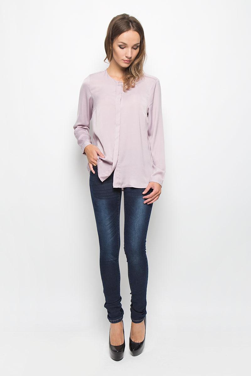 Джинсы женские Baon, цвет: темно-синий. B306512. Размер 28 (44/46)B306512Стильные женские джинсы Baon - это джинсы высочайшего качества, которые прекрасно сидят. Они выполнены из высококачественного эластичного хлопка с добавлением полиэстера, что обеспечивает комфорт и удобство при носке. Модные джинсы скинни заниженной посадки станут отличным дополнением к вашему современному образу. Джинсы застегиваются на пуговицу в поясе и ширинку на застежке-молнии, имеют шлевки для ремня. Джинсы имеют классический пятикарманный крой: спереди модель оформлена двумя втачными карманами и одним маленьким накладным кармашком, а сзади - двумя накладными карманами.Эти модные и в то же время комфортные джинсы послужат отличным дополнением к вашему гардеробу.