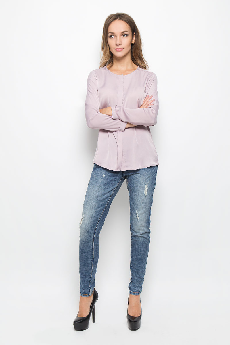 Джинсы женские Baon, цвет: синий. B306508. Размер 32 (48/50)B306508_Navy DenimМодные женские джинсы Baon станут отличным дополнением к вашему гардеробу. Изготовленные из хлопка с добавлением полиэстера и эластана, они приятные на ощупь, не сковывают движения и хорошо пропускают воздух.Джинсы-бойфренды застегиваются на металлическую пуговицу и имеют ширинку на застежке-молнии. На поясе предусмотрены шлевки для ремня. Спереди расположены два втачных кармана и один маленький накладной, а сзади - два накладных кармана. Изделие оформлено эффектом искусственного состаривания денима.Современный дизайн и расцветка делают эти джинсы стильным предметом женской одежды. Это идеальный вариант для тех, кто хочет заявить о себе и своей индивидуальности!