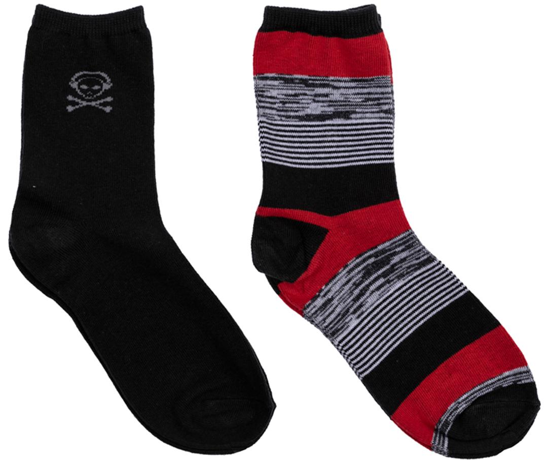 Носки для мальчика Scool, 2 пары, цвет: темно-серый, оранжевый. 363149. Размер 20363149Комплект из двух пар уютных хлопковых носков на каждый день. Мягкая и широкая резинка плотно облегает ногу, не сдавливая ее.