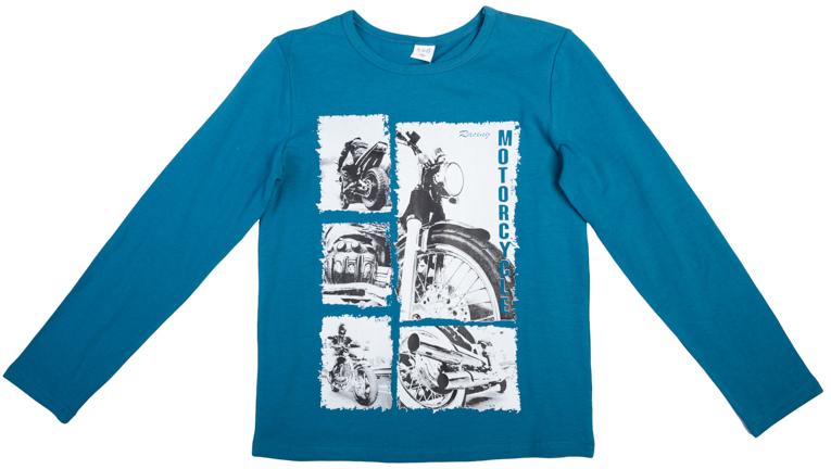 Лонгслив для мальчика Scool, цвет: светло-синий. 363086. Размер 152363086Яркий лонгслив оформлен стильным винтажным принтом в стиле газетных вырезок. На воротнике эластичная бейка.