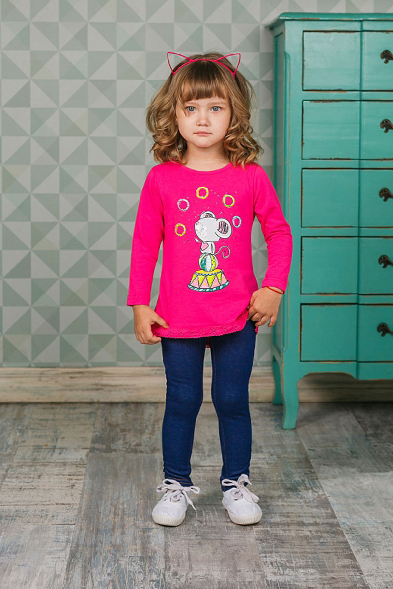 Леггинсы для девочки Sweet Berry, цвет: темно-синий. 205257. Размер 80205257Утепленные леггинсы для девочки Sweet Berry из трикотажа идеально подойдут для отдыха и прогулок. Модель на талии имеет широкую эластичную резинку, что обеспечивает удобную посадку изделия на фигуре. Сзади изделие дополнено двумя накладными карманами.