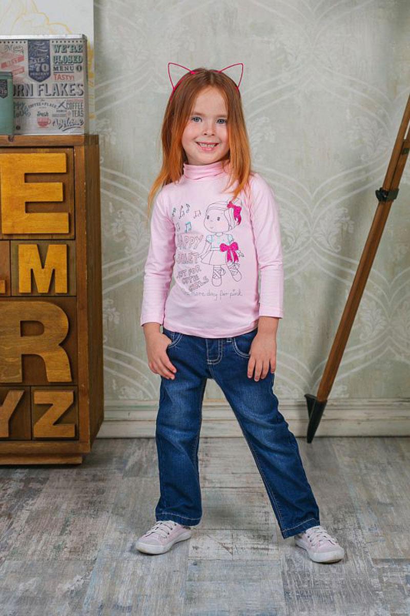 Джинсы для девочки Sweet Berry, цвет: темно-синий. 205232. Размер 92205232Утепленные джинсы Sweet Berry для девочки с эффектом потертости выполнены из высококачественного материала. Джинсы прямого кроя и стандартной посадки на талии застегиваются на крючок и имеют ширинку на застежке-молнии. На поясе имеются шлевки для ремня. Модель представляет собой классическую пятикарманку: два втачных и один маленький накладной кармашек спереди и два накладных кармана сзади.