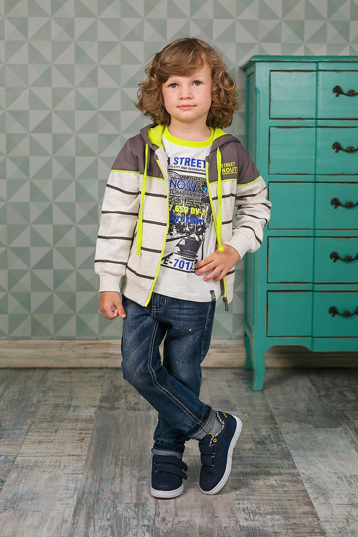 Лонгслив для мальчика Sweet Berry, цвет: светло-серый. 206372. Размер 98206372Лонгслив для мальчика выполнен из высококачественного материала и оформлен оригинальным принтом. Модель с круглым вырезом горловины и длинными рукавами.