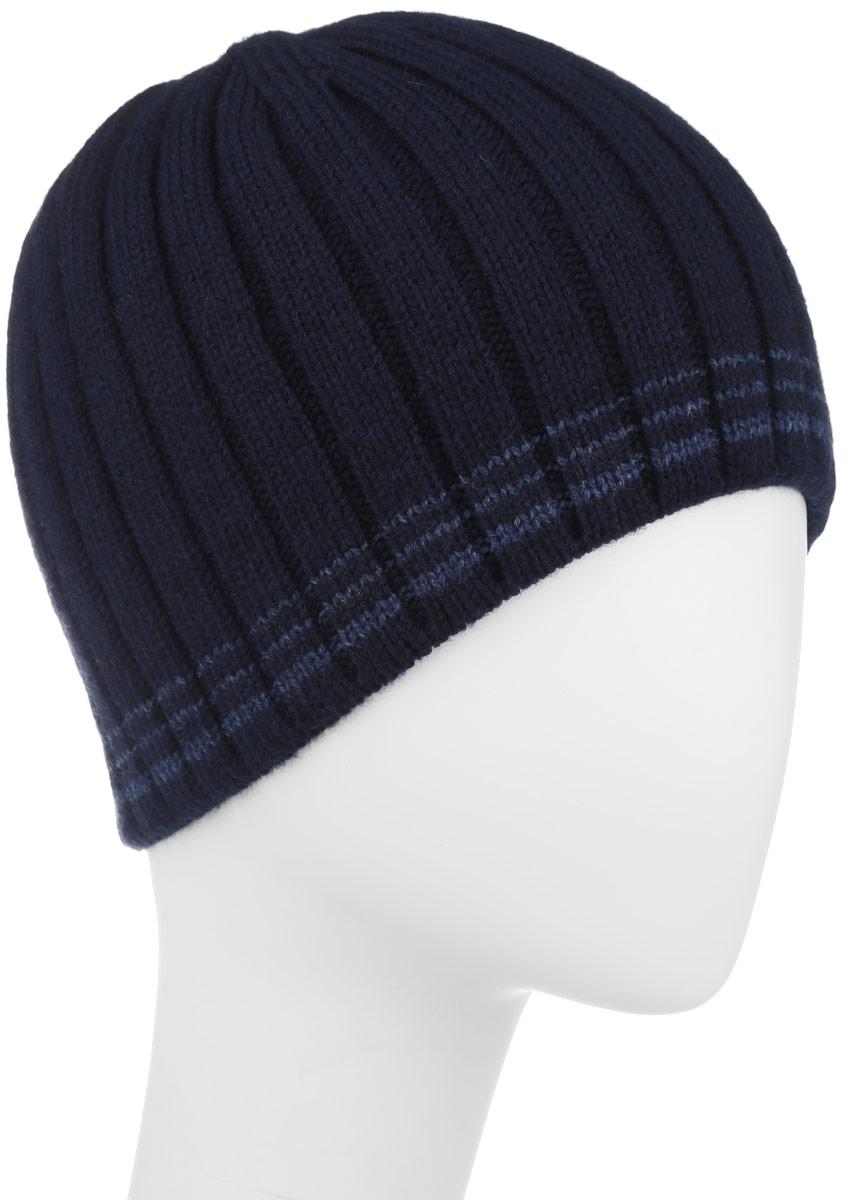 Шапка мужская Leighton, цвет: синий. 5-042. Размер: 59/605-042Вязаная мужская шапка Leighton отлично подойдет для повседневной носки и активного отдыха в холодное время года. Шапка подарит ощущение тепла и комфорта в прохладный день. Сочетание шерсти и акрила максимально сохраняет тепло и обеспечивает удобную посадку, невероятную легкость и мягкость. Стильная шапка Leighton подчеркнет ваш неповторимый стиль и индивидуальность. Такая модель составит идеальный комплект с модной верхней одеждой, в ней вам будет уютно и тепло.