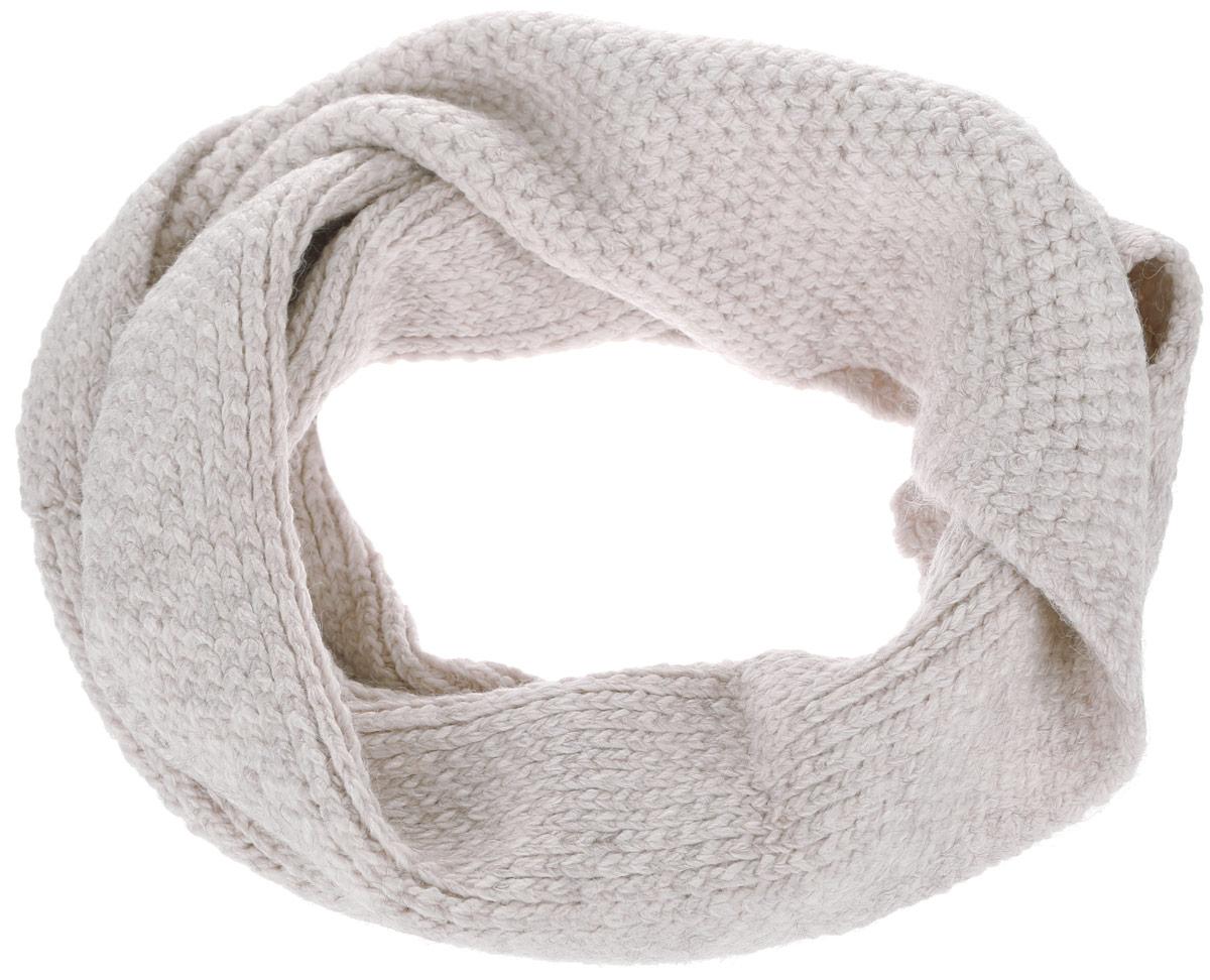 Снуд-хомут женский Baon, цвет: бежевый. B333. Размер 29 см х 154 смB333Стильный снуд-хомут Baon, выполненный из акрила с добавлением полиамида и эластана, создан подчеркнуть ваш неординарный вкус и согреть вас в прохладное время года. Снуд - это объемный шарф, связанный по кругу, который можно носить не только на шее, но и как головной убор.Этот модный аксессуар гармонично дополнит образ современной женщины, следящей за своим имиджем и стремящейся всегда оставаться стильной и элегантной.