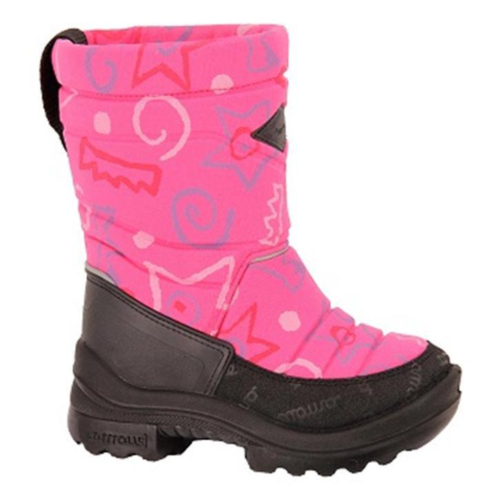 Сапоги для девочки Kuoma Putkivarsi, цвет: розовый. 1303_3786. Размер 211303_3786Детские сапоги выполнены из грязе-водоотталкивающего текстиля. Внутренняя поверхность и стелька из шерсти и искусственного меха не дадут замерзнуть ногам в холодную погоду. Резиновая подошва создаст дополнительный комфорт, не позволяя ноге скользить.
