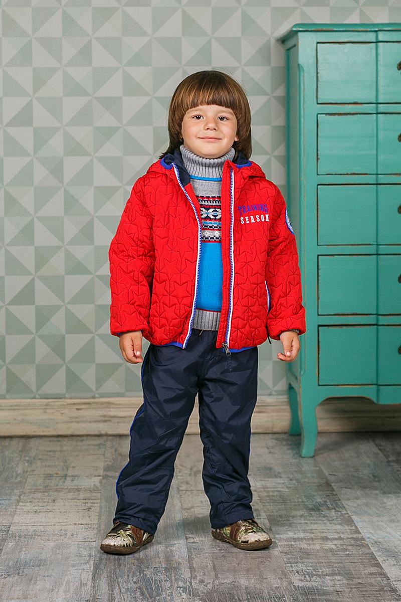 Брюки для мальчика Sweet Berry, цвет: темно-синий. 206152. Размер 92206152Брюки для мальчика Sweet Berry изготовлены из высококачественного материала. Модель дополнена подкладкой из флиса и эластичным поясом с кулиской.Низ брючин оформлен эластичным шнуром со стопером.
