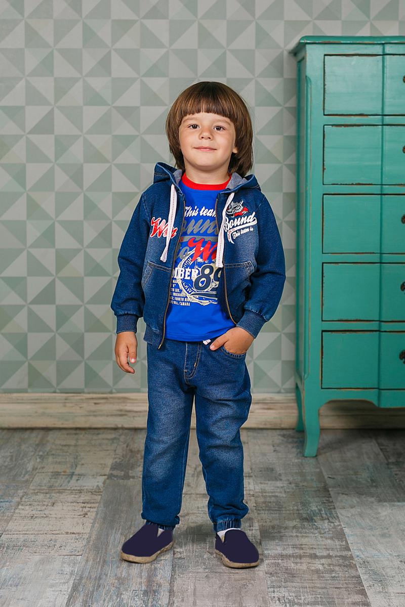 Лонгслив для мальчика Sweet Berry, цвет: синий. 206157. Размер 80206157Лонгслив для мальчика выполнен из высококачественного материала и оформлен оригинальным принтом. Модель с круглым вырезом горловины и длинными рукавами.