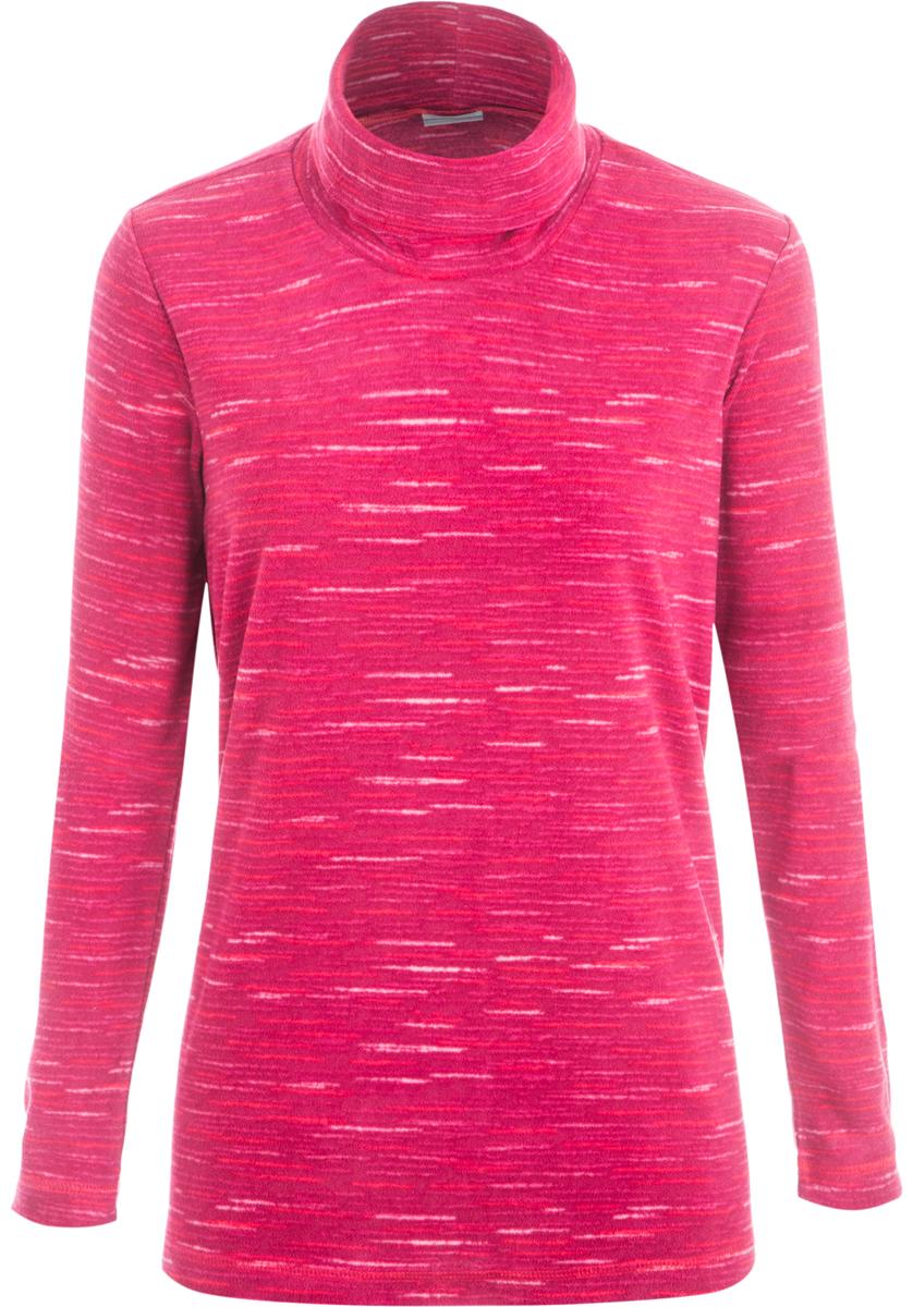 Водолазка женская Columbia Glacial, цвет: бордовый. 1556641-661. Размер L (48)1556641-661Стильная и легкая флисовая водолазка, которая станет незаменимой вещью в походе.Флис - это очень удачный материал для одежды, которая направлена на удержание тепла, ведь ткань даже в мокром состоянии сохраняет свои теплоизоляционные свойства. Ткань тянется, быстро сохнет и максимально быстро выводит влагу.