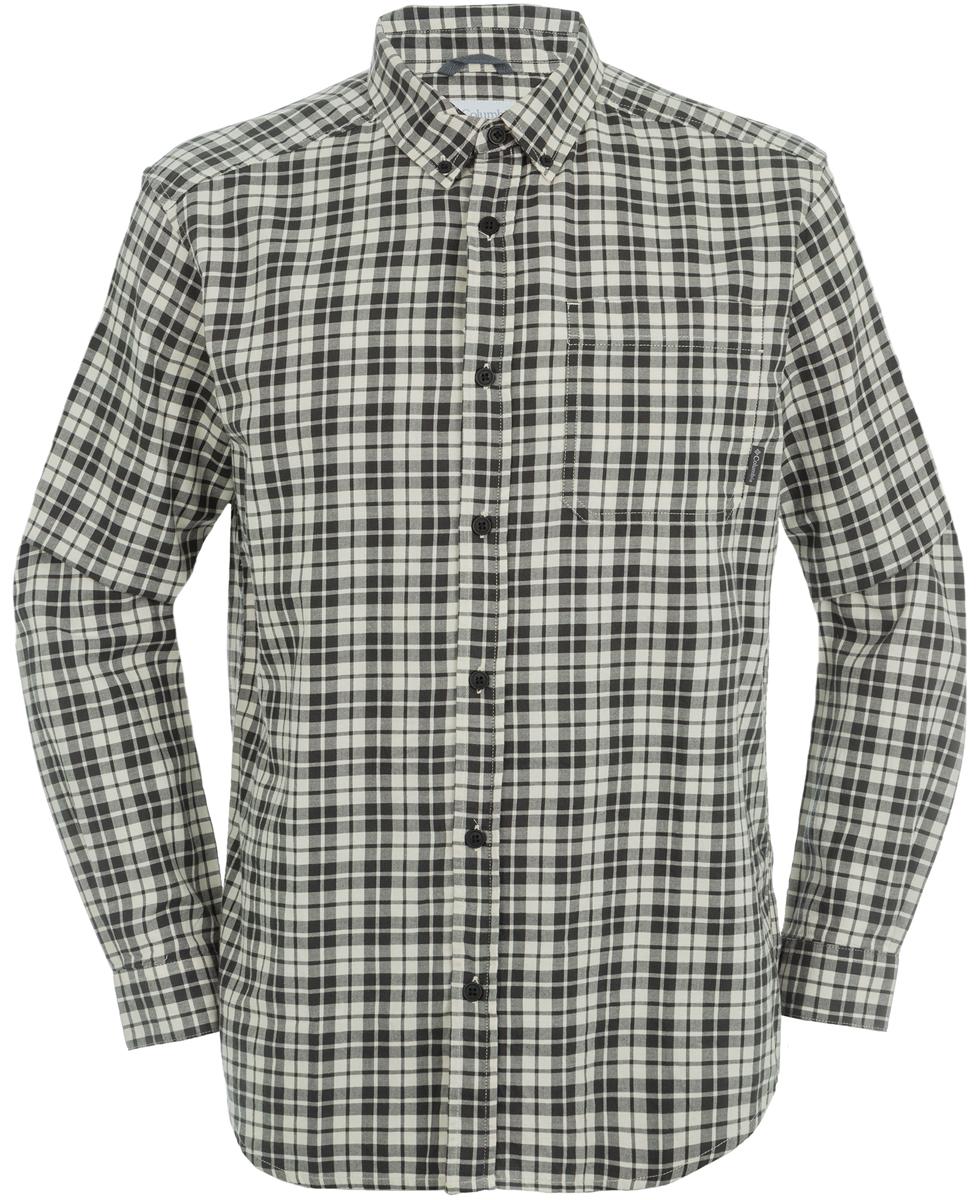 Рубашка мужская Columbia Out And Back, цвет: коричневый. 1552061-191. Размер S (44/46)1552061-191Классическая мужская рубашка с длинными рукавами из мягкого хлопкого твилла. Модель незаменима для активного отдыха и прогулок. Изделие прямого кроя, имеется нагрудный накладной карман.