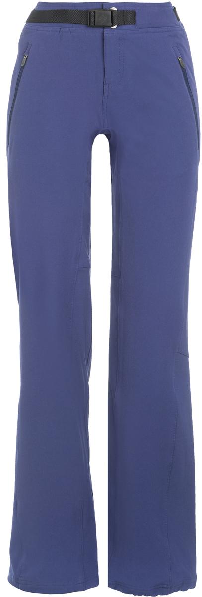 Брюки женские Columbia Maxtrail, цвет: синий. 1465971-563. Размер M (46)1465971-563Удобные брюки из высококачественного материала станут отличным выбором для горного туризма.Ткань обработана покрытием Omni-Shield, которое защищает от легкого дождя и грязи.Артикулируемые колени и ткань, которая тянется в двух направлениях, обеспечивают максимальный комфорт и полную свободу движений.Боковые карманы на молнии подойдут для надежного хранения мелочей.