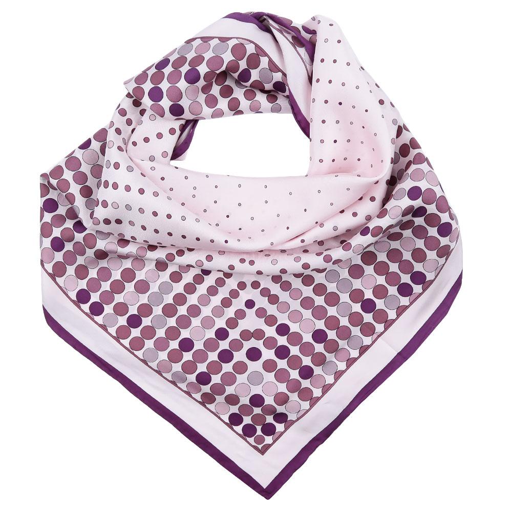 Платок Fabretti, цвет: светло-розовый. CX1617-09. Размер 90 см х 90 смCX1617-09-7Стильный платок станет прекрасным дополнением к вашему образу. Выполнен из высококачественного материала и оформлен оригинальным принтом.