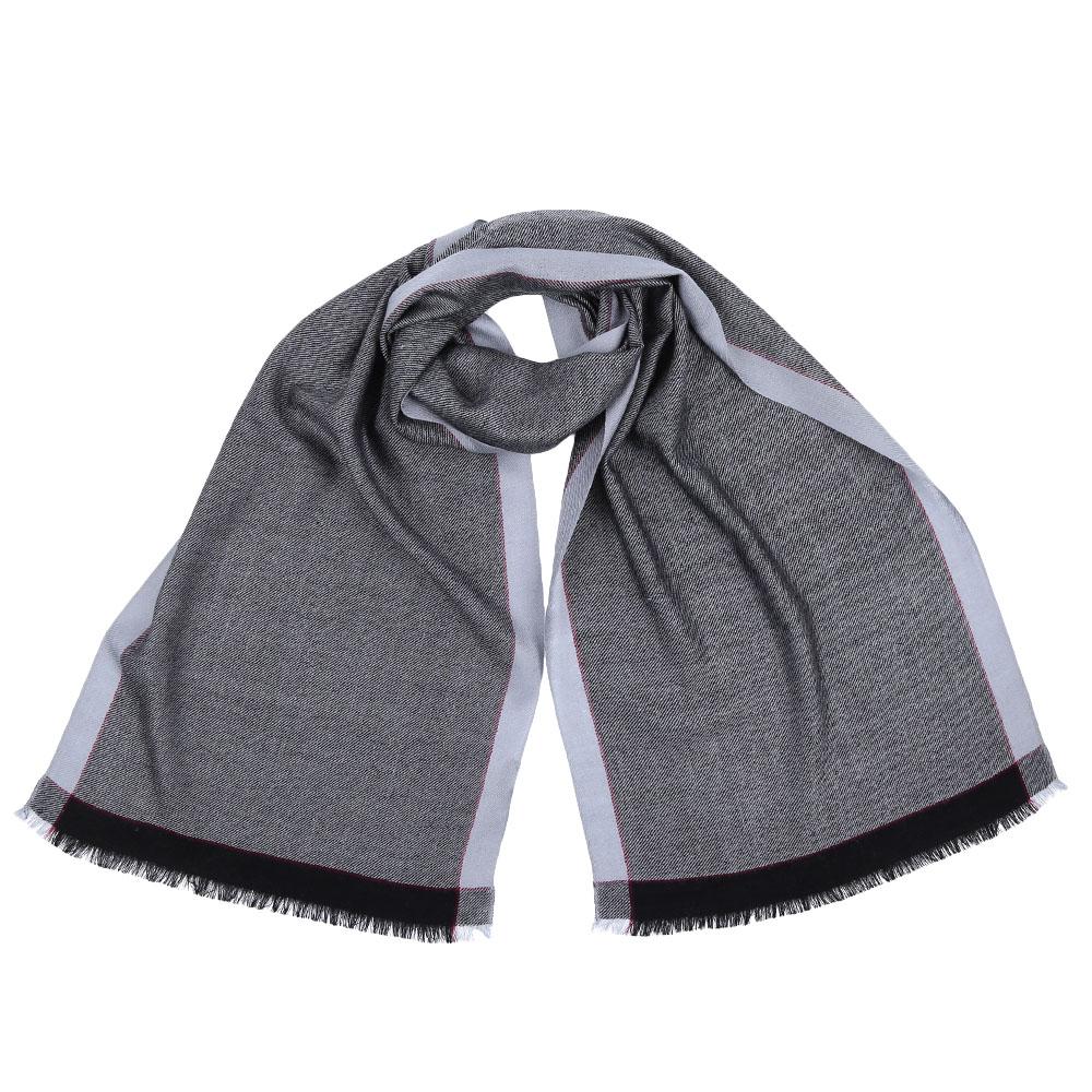 Шарф мужской Fabretti, цвет: серый, голубой. GYHY129. Размер 40 см х 183 смGYHY129-AСтильный шарф поможет внести живость в любой образ, подарит уют и согреет от холодного ветра. Выполнен из высококачественного материала.