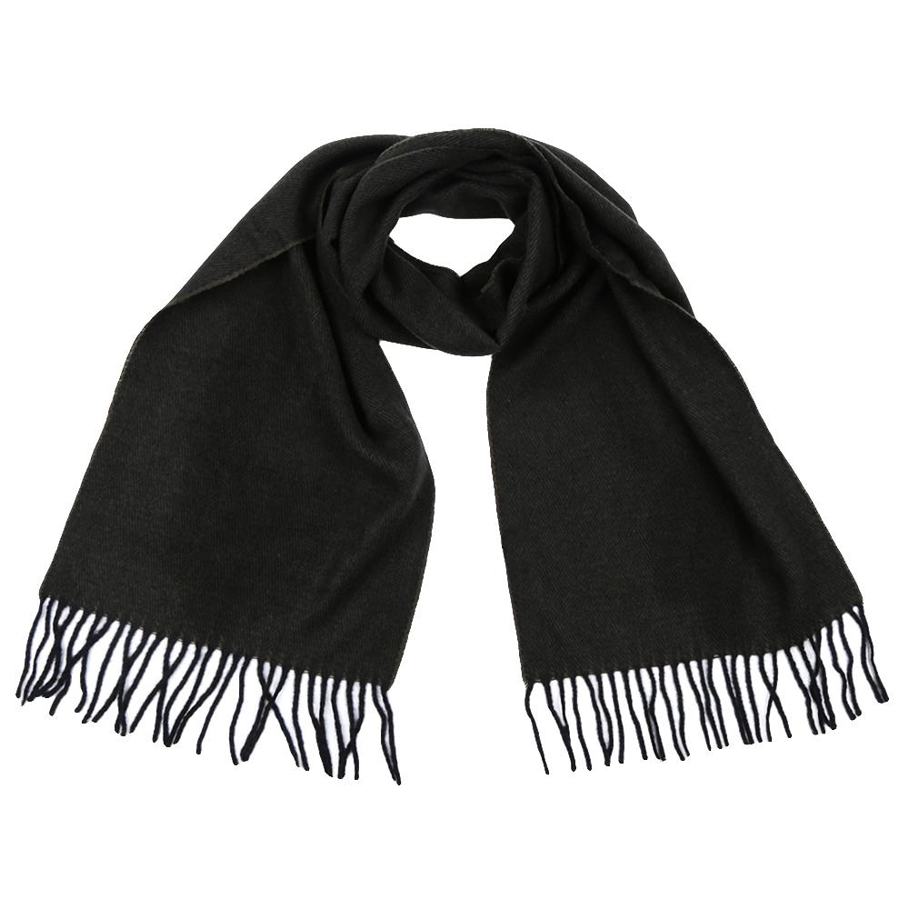 Шарф мужской Fabretti, цвет: темно-серый. GY16001. Размер 30 см х 186 смGY16001-4Стильный шарф Fabretti поможет внести живость в любой образ, подарит уют и согреет от холодного ветра. Шарф дополнен длинной бахромой.
